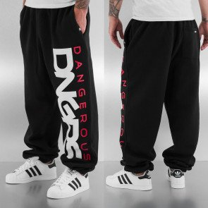 Tepláky Dangerous DNGRS Classic Sweat Pants Black