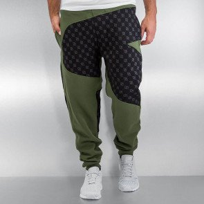 Tepláky Dangerous DNGRS Small Symbols Sweat Pants Capulet Olive