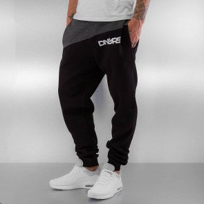 Tepláky Dangerous DNGRS Hardcore Sweatpants Black/grey