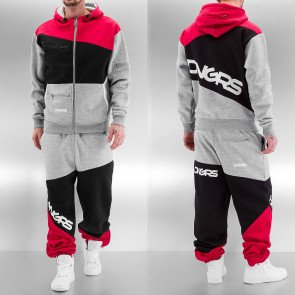 Tepláková súprava Dangerous DNGRS Sweat Suit Grey/Black/Red