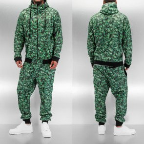 Mikina Dangerous DNGRS Hemp Sweat Suit Green