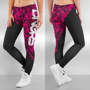 Legíny Dangerous DNGRS Girls And Guns Leggings Black