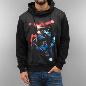 Mikina Just Rhyse Fuckoff Lights Hoody Black