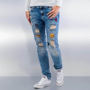 Jeans Just Rhyse Roslyn Boyfriend Blue