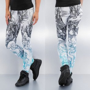 Legíny Just Rhyse Religion Leggings White