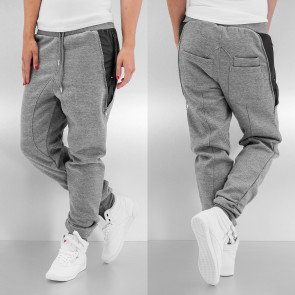 Tepláky Just Rhyse Side Zip Sweat Pants Grey Melange