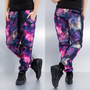Tepláky Just Rhyse Galaxy Sweat Pants Purple