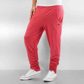 Tepláky Just Rhyse Harem Sweatpants Light Red Melange