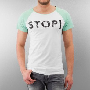 Just Rhyse And Friends Stop! T-Shirt White/Green