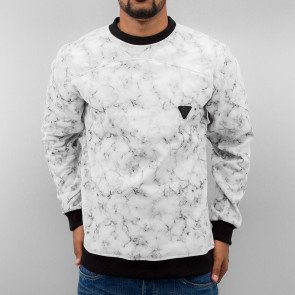 Mikina Just Rhyse Marble Sweatshirt Grey