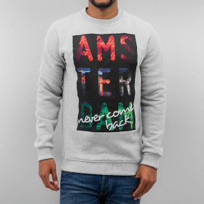 Mikina Just Rhyse Amsterdam Sweatshirt Grey