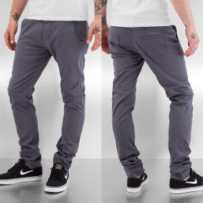 Nohavice Just Rhyse Basic Iv Chino Pants Grey