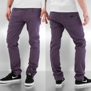 Nohavice Just Rhyse Basic III Chino Pants Dark Grey