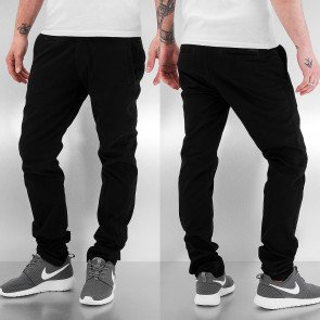Nohavice Just Rhyse New Basic Chino Pants Black