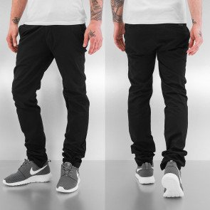 Nohavice Just Rhyse Basic Chino Pants Black