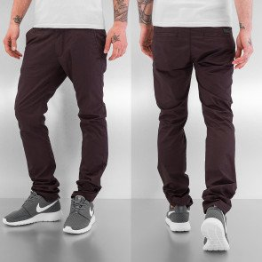 Nohavice Just Rhyse Basic Chino Pants Brown