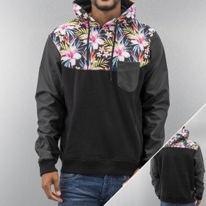 Mikina Just Rhyse Flow Hoody Black