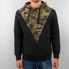 Mikina Just Rhyse Triangle Black Camouflage