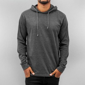 Mikina Just Rhyse Thin Blank Hoody Anthracite