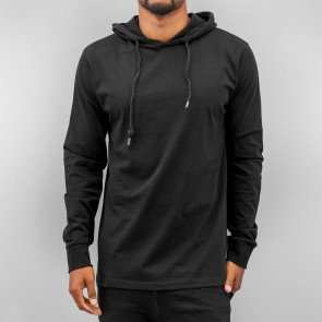 Mikina Just Rhyse Thin Blank Hoody Black
