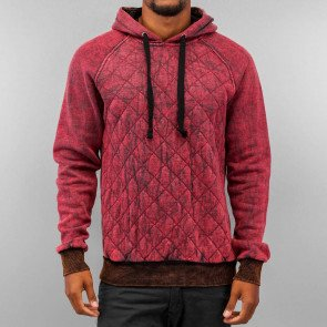 Mikina Just Rhyse Quilt Hoody Black