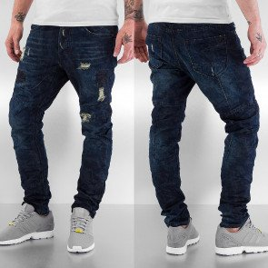 Nohavice Just Rhyse Camo Antifit Jeans Blue
