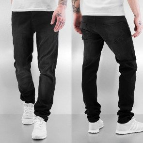 Nohavice Just Rhyse Loma Slim Fit Black Wash