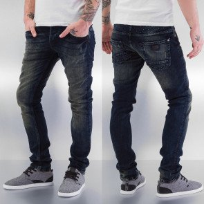 Nohavice Just Rhyse Application Skinny Fit Blue
