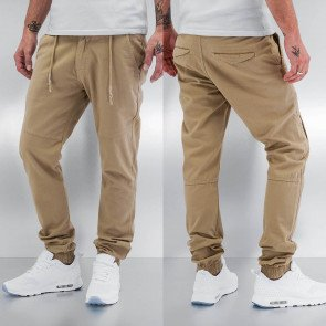 Nohavice Just Rhyse Anti Fit Chino Beige