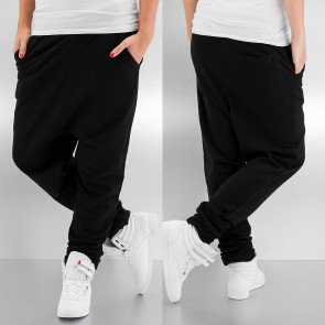 Tepláky Just Rhyse Baggy Sweat Pants Black