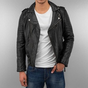 JUST RHYSE AND FRIENDS BIKER JACKET BLACK
