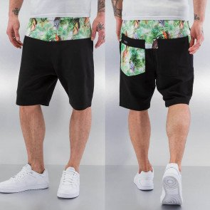 Kraťasy Just Rhyse Jungel Sweat Shorts Black