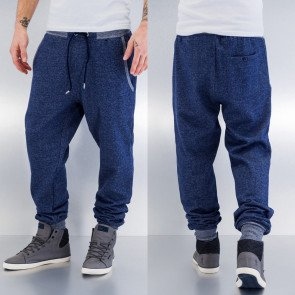 Tepláky Just Rhyse Beat Men Sweat Pants Indigo Melange
