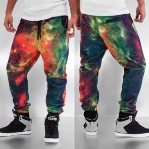 Tepláky Just Rhyse Galaxy Sweat Pants Red