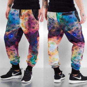 Tepláky Just Rhyse Weed Sweat Pants Galaxy