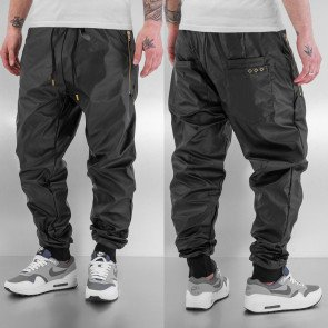 Tepláky Just Rhyse Beat PU Sweat Pants Black