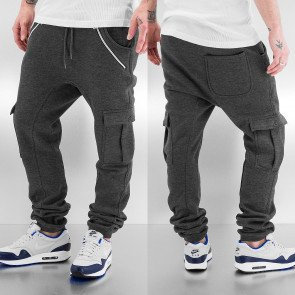 Just Rhyse Cargo Sweat Pants Antracite