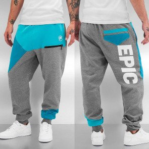 Tepláky Just Rhyse Epic Grey Turquoise