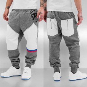 Tepláky Just Rhyse Pio Sweat Pants Grey White