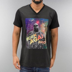 JUST RHYSE BORN AGAIN T-SHIRT BLACK