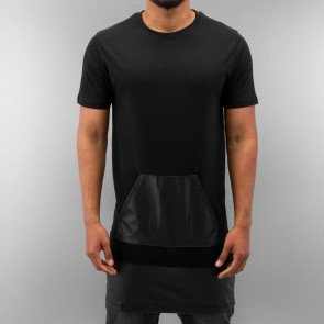 Tričko Just Rhyse PU T-Shirt Black