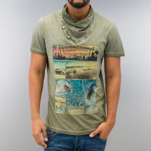 Tričko Just Rhyse Summer T-Shirt Khaki