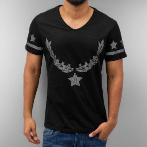 Tričko Just Rhyse Star T-Shirt Black