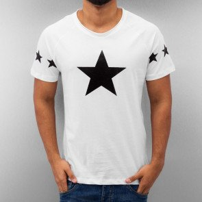 Tričko Just Rhyse Star T-Shirt White