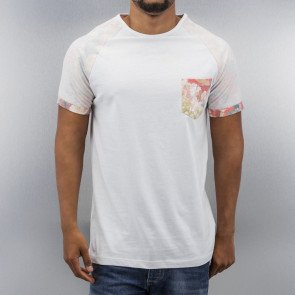 Tričko Just Rhyse Flower T-Shirt White