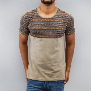 Tričko Just Rhyse Indian T-Shirt Brown