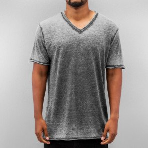Tričko Just Rhyse Soft V-Neck T-Shirt Black