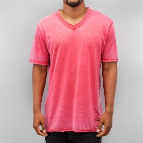 Tričko Just Rhyse Soft V-Neck T-Shirt Red