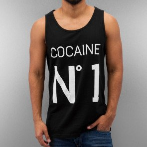 Tričko Just Rhyse Cocaine Tank Top Black