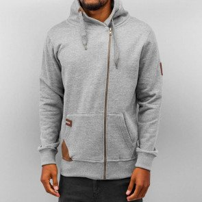 Mikina Just Rhyse Rollneck Grey Melange